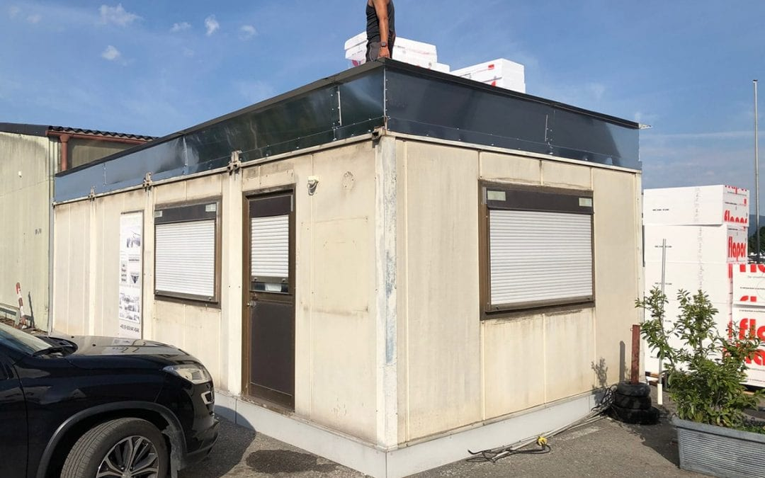 #Umbau – Neues Dach